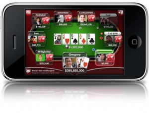 Jouer poker mobile